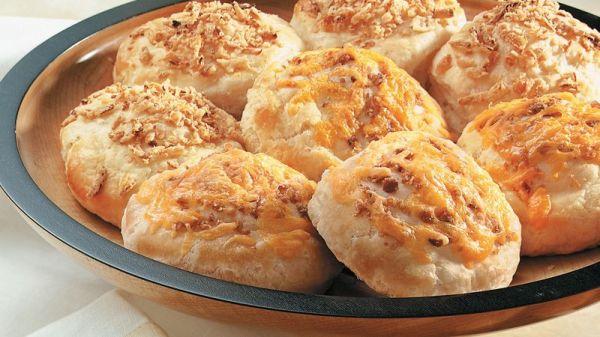 Crispy Onion Biscuits club store pack Recipe Pillsburycom