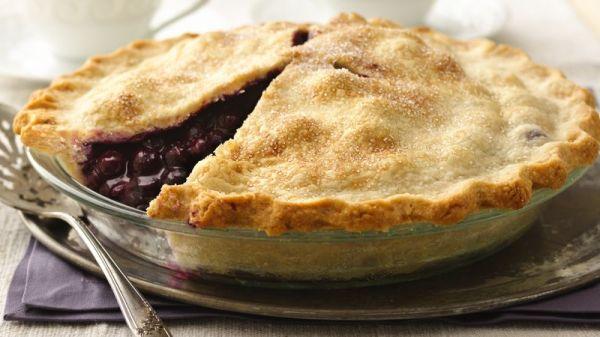 Classic Blueberry Pie Recipe BettyCrockercom