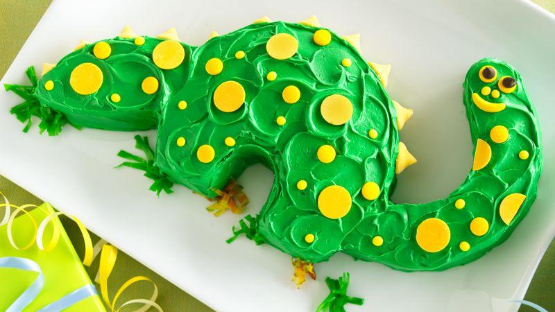 Dinosaur Cake Recipe Tablespoon Com