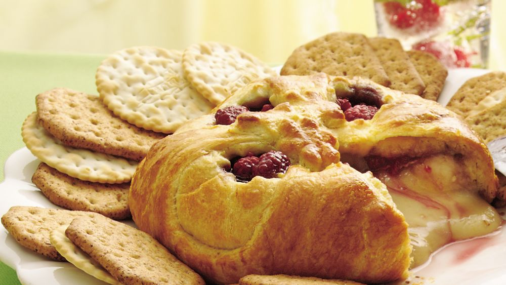 Raspberry Baked Brie Recipe From