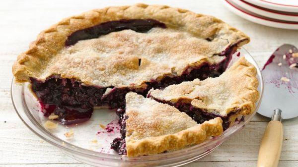 Easiest Ever Blueberry Pie Recipe Pillsburycom