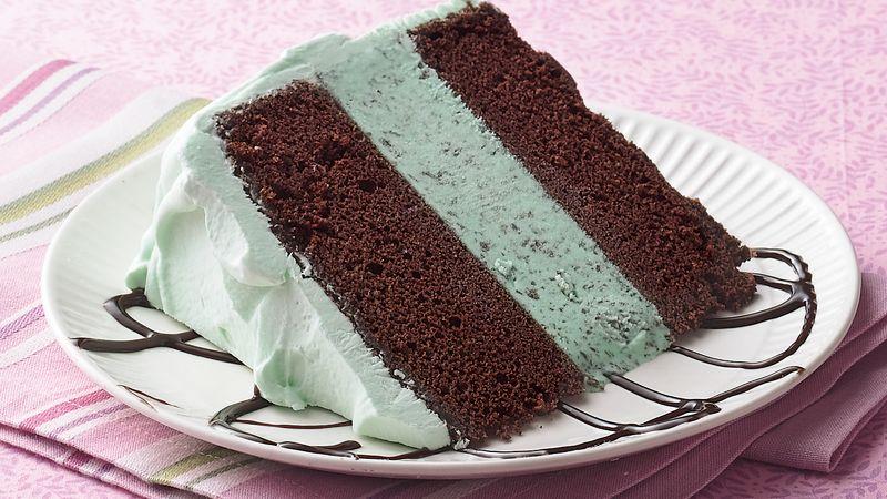 MintChocolate Ice Cream Cake Recipe  Tablespooncom