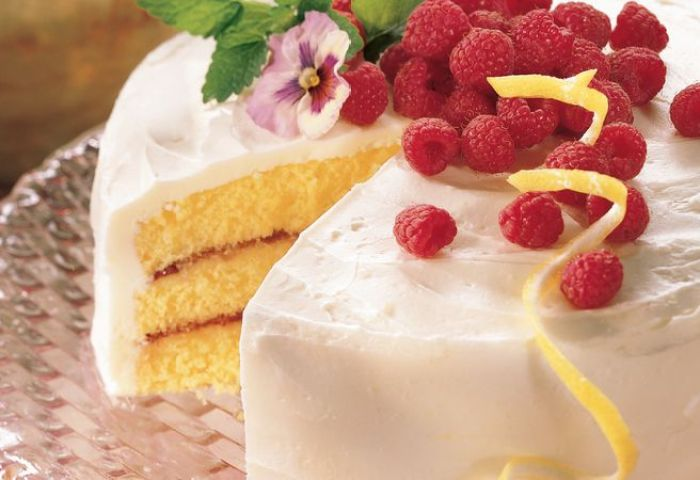 Lemon Raspberry Cake Recipe Bettycrockercom