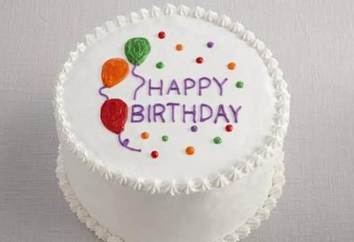 Happy Birthday Balloon Cake Recipe Bettycrockercom