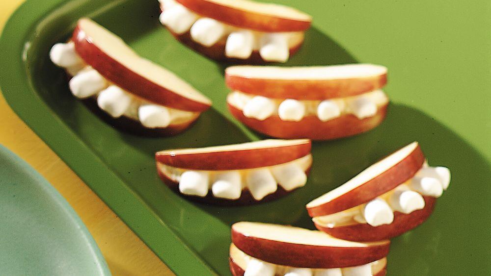 Smiley Apples Recipe From Pillsbury Com