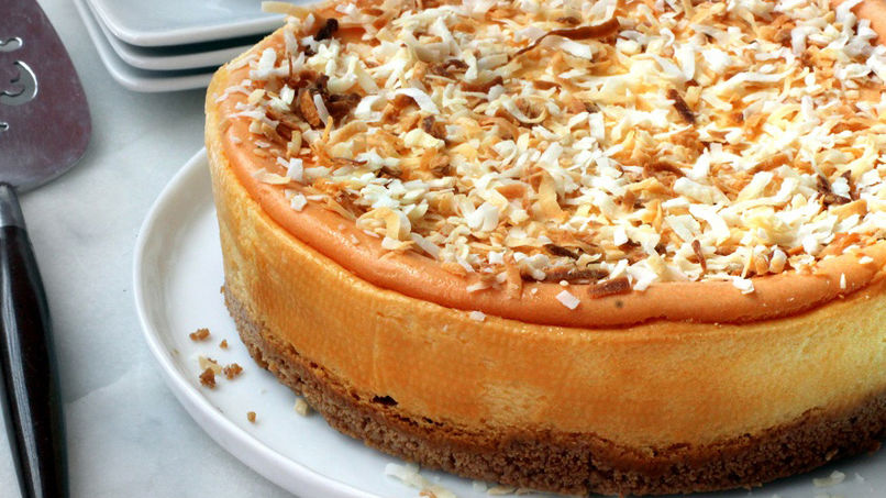 Receta de Cheesecake de Coquito Puertorriqueo  Que Rica Vida