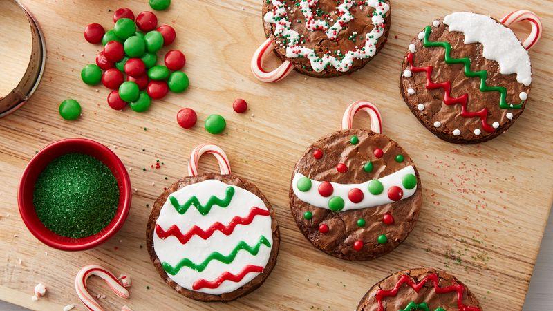 Easy Brownie Ornaments Recipe From Betty Crocker