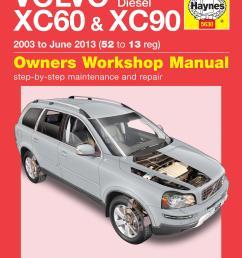 details about haynes owners workshop manual volvo xc60 xc90 2003 2013 diesel maintenance [ 2525 x 3307 Pixel ]