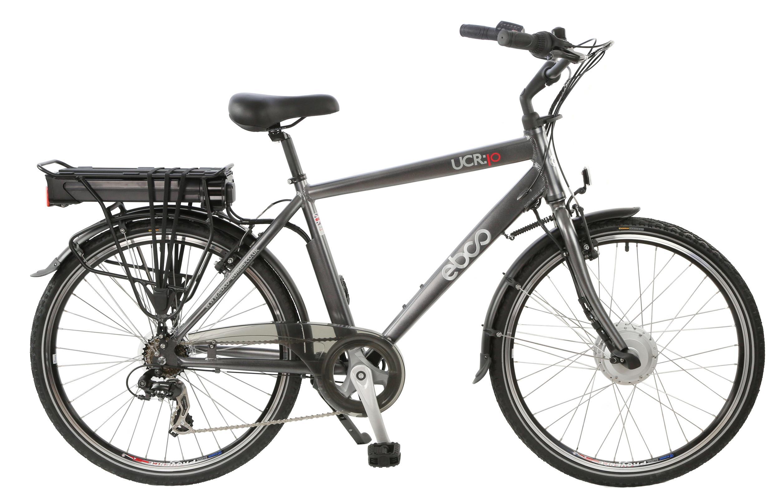 EBCO UCR-10 Womens Mens Unisex Electric Bike 26
