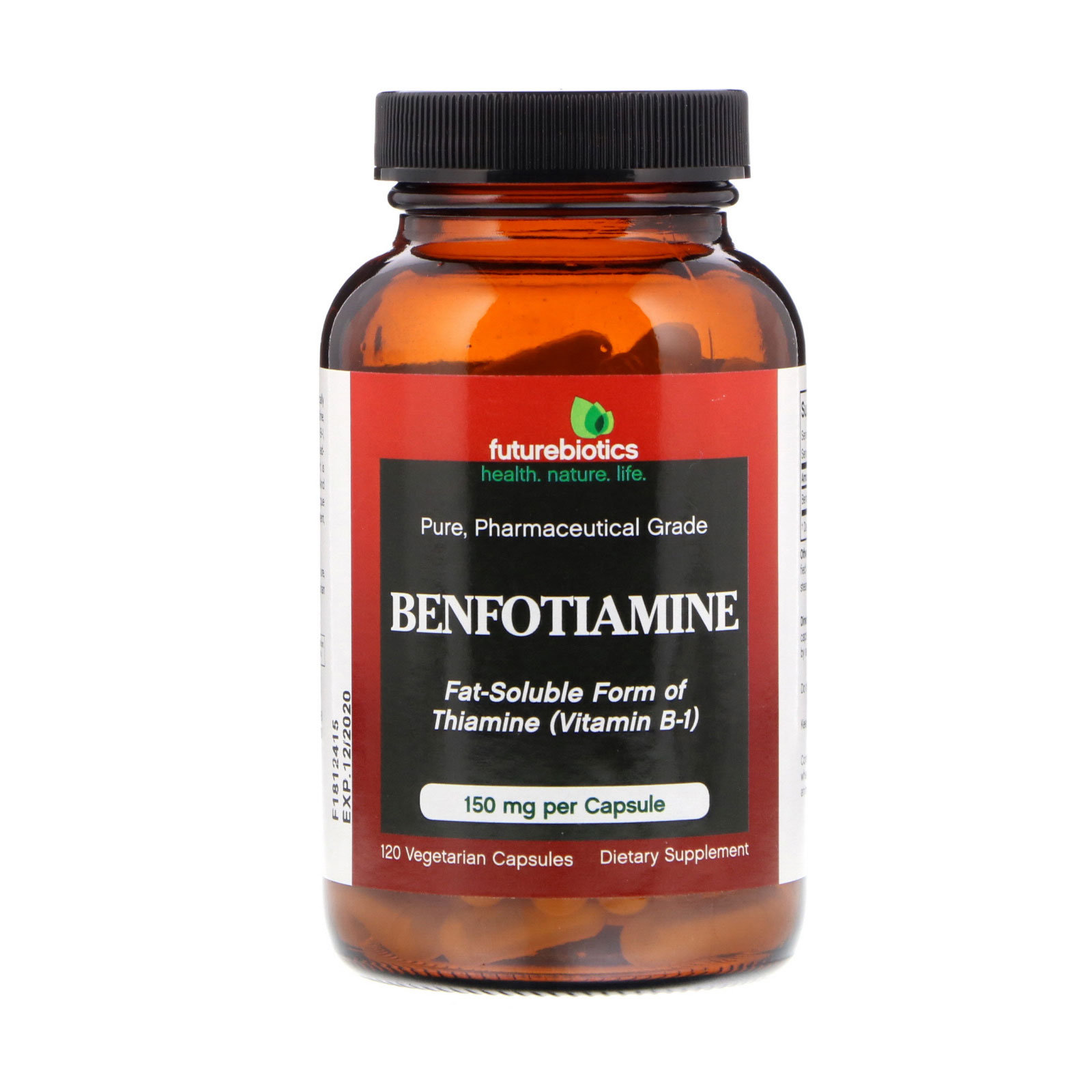 Benfotiamine Fat Soluble Form Of Thiamine Vitamin