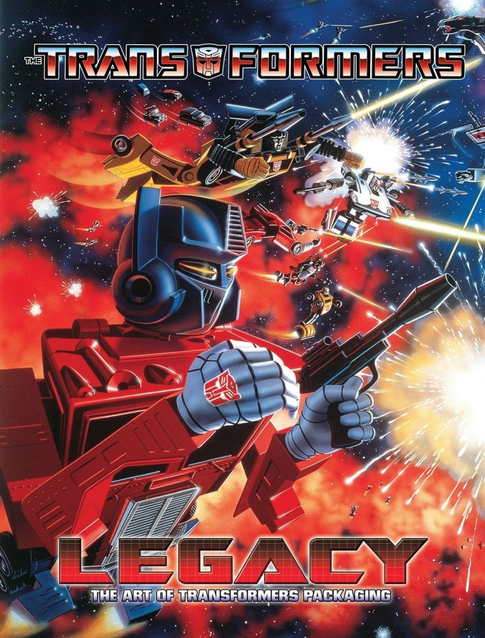Transformers Legacy: A Celebration of Transformers Package Art