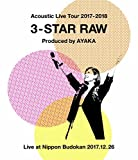 Acoustic Live Tour 2017-2018 ~3-STAR RAW~(Blu-ray Disc)