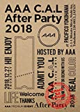 AAA C.A.L After Party 2018(Blu-ray Disc)