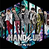 HANDS UP(CD+DVD)(初回盤B)