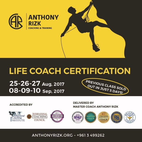 Life Coach Certification In Beirut Lebtivity