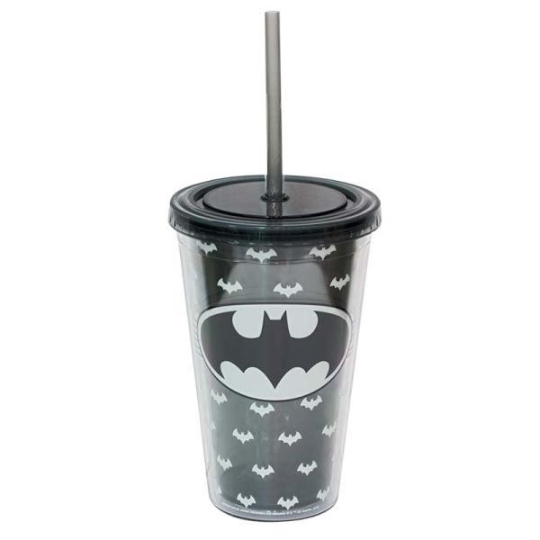 Batman Travel Glow In Dark Plastic Cup