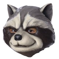 Guardians Of The Galaxy Adult Rocket Raccoon Costume Mask ...