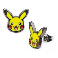 Pokemon Pikachu Stud Earrings | TVMovieDepot.com