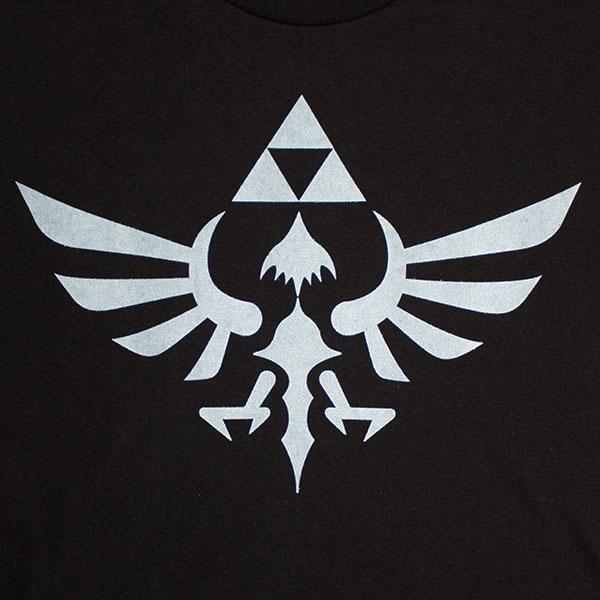 Nintendo Black Womens Triforce Zelda T Shirt