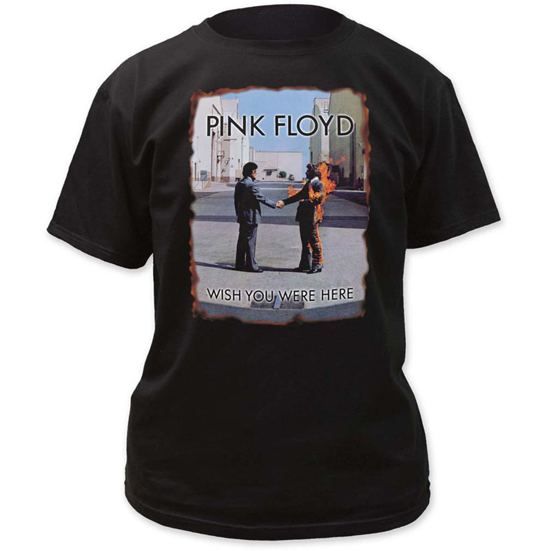 Pink Floyd Wish You Were Here Cover T Shirt
