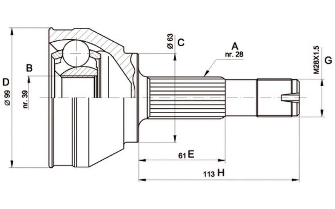 Fiat Cv Joint Diagram. Fiat. Wiring Diagrams Instructions