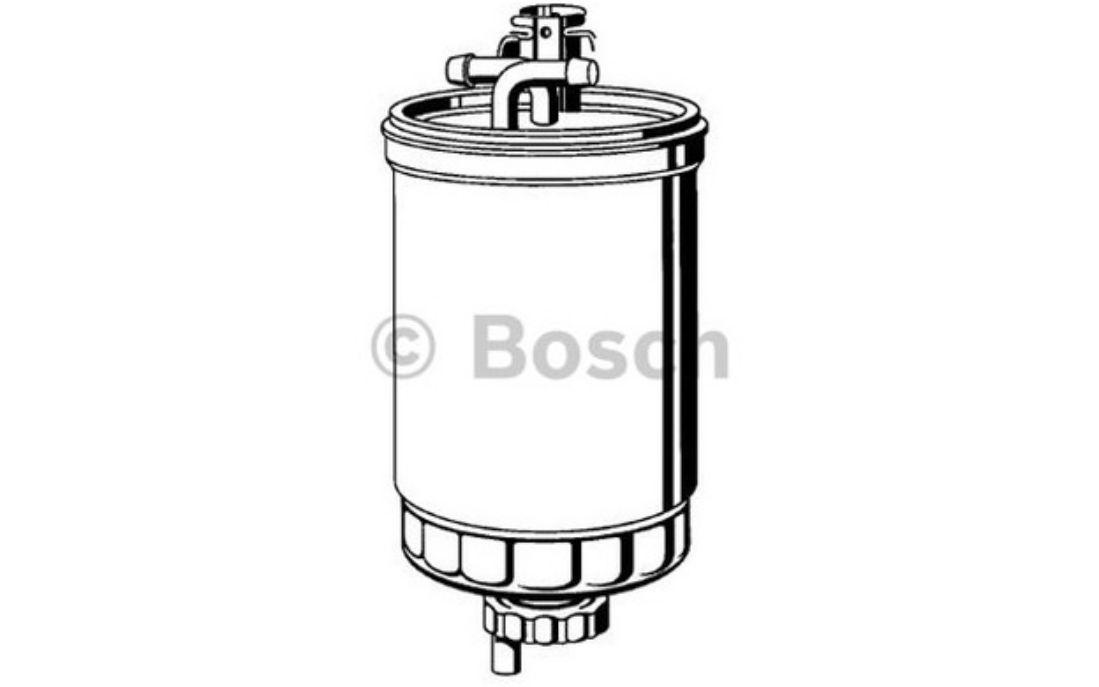 BOSCH Filtre à carburant 89mm Pour VOLKSWAGEN SHARAN FORD