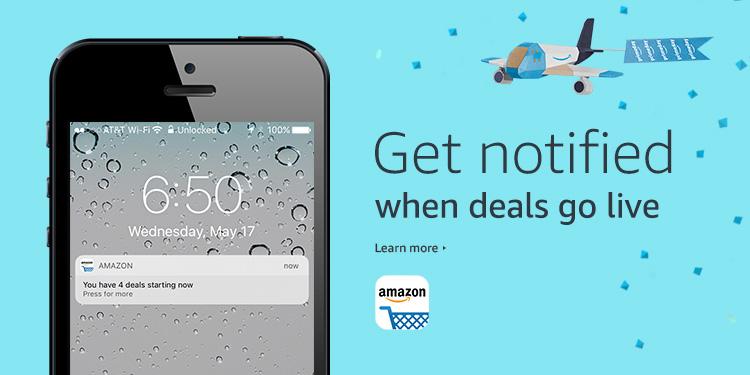 Get notified when deals go live