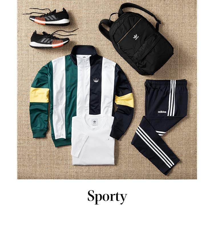 SHOP BY STYLE Sporty