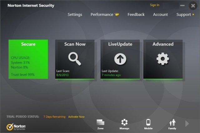 Norton Internet Security 22.11.2.7