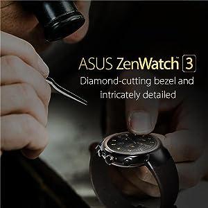 ASUS ZenWatch 3, WI503Q-GL-DB