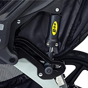bob, revolution, duallie, jogging, stroller, adjustable, suspension