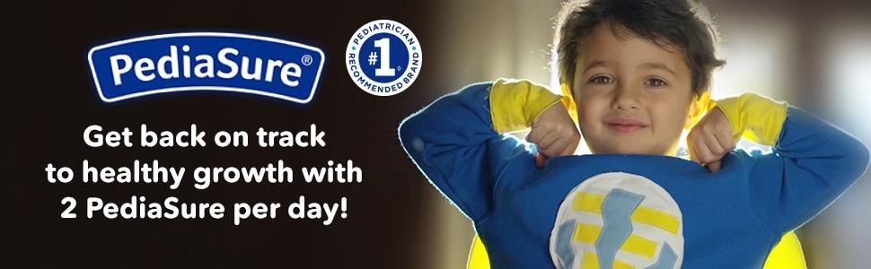 PediaSure - Volte no caminho para um crescimento saudável com 2 PediaSure por dia!