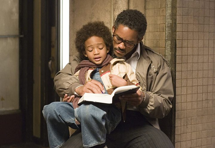 movie fathers: Chris Gardner of the pursuit of happiness