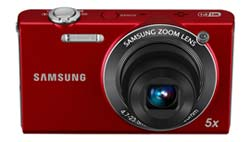 Samsung SH100 14-Megapixel Wi-Fi Digital Camera product shot