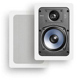 Polk Audio RC55i in-wall speakers in white
