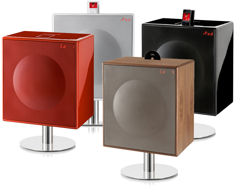 Geneva Sound System Model Xl High Powered All In One Hifi System For Cd Ipodiphone Radio