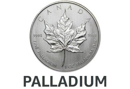Palladium Collectible Coins