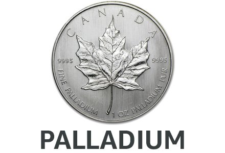 Palladium Collectible Coins