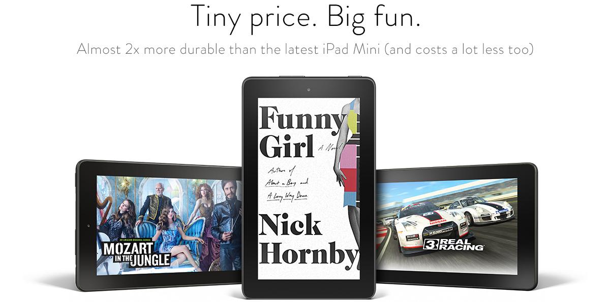 Big fun. Tiny price.
