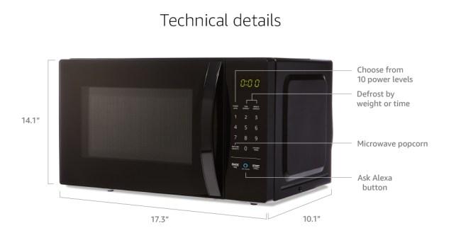 best amazon microwave