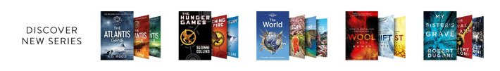 Discover a new series with eBooks including A. G Riddle's The Atlantis Gene, Suzanne Collin's The Hunger Games and more