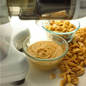 HOMOGENIZER Make fresh frozen desserts, natural baby food, and nut butters (all-natural peanut butter) using fresh nuts. Make almond or soy milk.