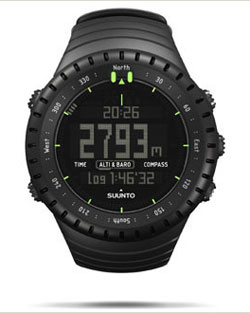 SUUNTO Core All Black Military Men's Outdoor Sports Watch - SS014279010 6 Fashion Online Shop Gifts for her Gifts for him womens full figure