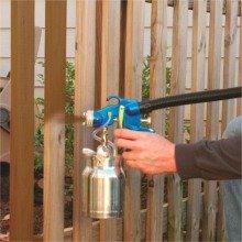 Earlex HV5500 spraying fence