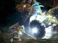 A Final Fantasy style monster from Final Fantasy XIV: A Realm Reborn