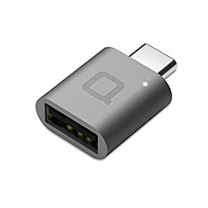 non 2. SR300,300  - nonda USB Type C to USB 3.0 Adapter, Thunderbolt 3 to USB Adapter Aluminum with Indicator LED for MacBook Pro 2019/2018, MacBook Air 2018, Pixel 3, Dell XPS and More Type-C Devices (Space Gray)