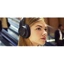 Weiche Ohrpolster sorgen für mehr Komfort -  Sony MDR-ZX770BNB Over-Ear Kopfhörer
