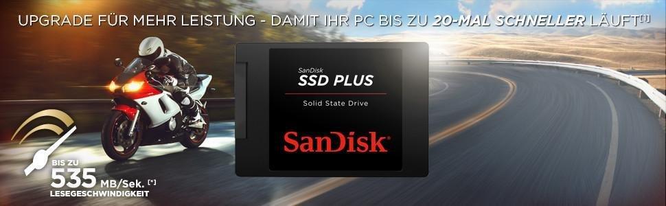 SanDisk SSD Plus - Mehr Leistung