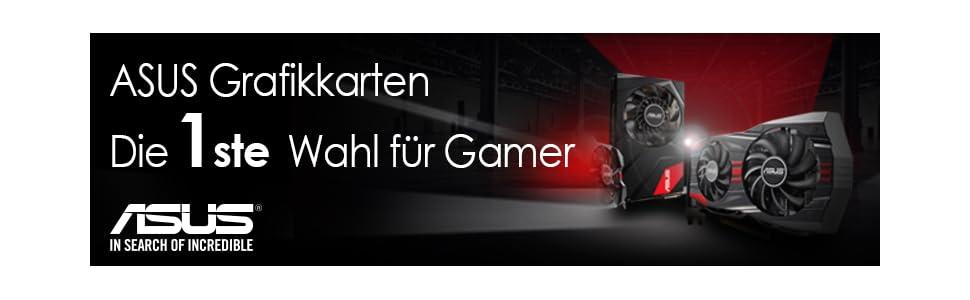 Asus GeForce Grafikkarten - Die 1. Wahl für Gamer