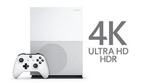 4K Ultra HD HDR - Xbox One S 500 GB Konsole - Fifa 17 Bundle